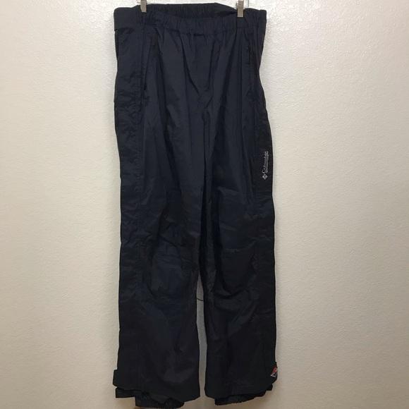 408f3d578f7 Columbia Pants   Omni Tech Men Lxl Black Waterproof   Poshmark